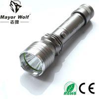 厂家批发 直充手电筒 户外照明防身车载车用手电筒