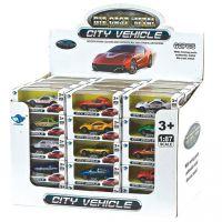 合金小汽车玩具滑行车模迷你跑车赠品玩具合金车模型厂家直销