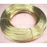 螺丝1.6mm黄铜线价格H65实心黄铜圆线批发销售