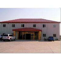 河北保定轻型钢结构彩钢房厂家现场焊接式活动房祈虹彩钢板
