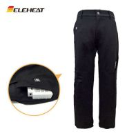 S/XL新款时尚休闲青年电热裤男士发热保暖裤护膝直筒运动裤宽松型ELEHEAT