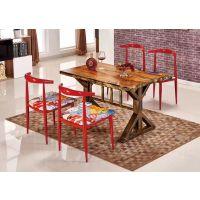 主题餐厅桌椅咖啡厅桌椅餐桌椅西餐厅快餐桌椅