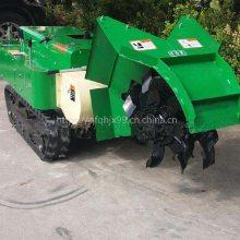履带式葡萄果树除草机 多功能回填机 启航开沟施肥机