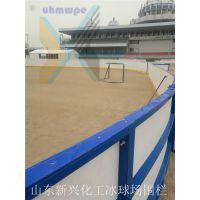 耐紫外线 抗冲击30*61标准冰球场围栏 山东新兴专业生产