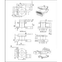 PQ2014高频变压器骨架 直插 立式5+0针