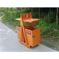 武汉 定制各式锥形木制垃圾桶 政府环卫垃圾桶,质量保证,一年保修—振兴