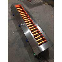商用瑞铃达燃气烧烤炉合金管燃气烤炉中间管子加热烧烤炉燃气烤串炉子