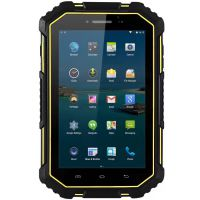 军工三防平板厂家直销7寸全网通4G GPS北斗导航加固型工业平板
