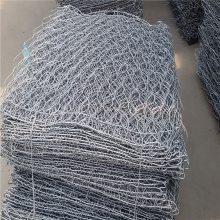 河道护坡格宾石笼 六角网用途 过塑格宾网多少一平方