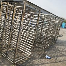 供应 不锈钢整车 36盘蒸车价格    蒸房配套蒸车价格