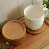 杯垫 隔热垫 餐桌垫家居厨房隔热木垫 竹木杯垫订制