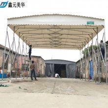 杭州轮式推拉雨棚布促销滨江户外仓储帐篷批发活动雨蓬定做