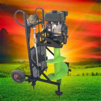 启航多功能植树汽油挖坑机 四冲程二冲程挖坑机 不同尺寸可定做钻头