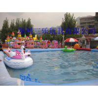 儿童游乐碰碰船湖南SL水上卡通电瓶船备受欢迎