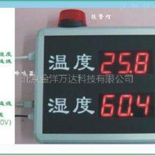 温湿度报警器(温湿度显示屏) 型号:JY-YD-HT823B