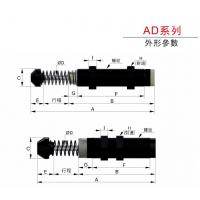 浙江一盛进口油压稳速器 AD4250 AD4275液压阻尼缓冲器 稳速器 吸震器