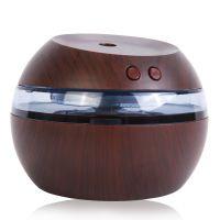 小千喵USB加湿器迷你香薰机办公空气净化器木纹加湿器