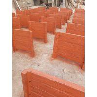 混凝土仿木垃圾箱 景观工程仿木花箱 园林水泥花桶