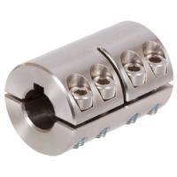 双槽刚性联轴器MAT, 不锈钢, 有键槽,进口联轴器厂家