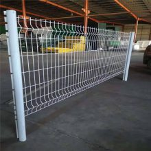 三折弯护栏网 桃柱护栏网厂家 公园隔离网厂家