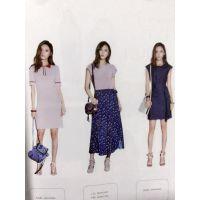 欧美品牌女装加盟店午后衣橱多种款式外贸服装批发走份渠道