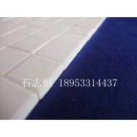 淄博厂家供应 规格 10*10*3 超耐磨 粘接 矿山磁选机耐磨陶瓷片