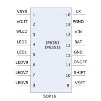 INJOINIC新品IP6351——可带移动电源的风扇方案