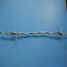 包塑双股刺线 包胶钢丝绳 刺绳护栏