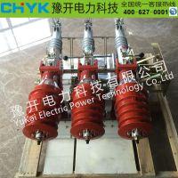 豫开FKN12-12DR/T1250A户内高压负荷开关 高压负荷电动电分 10KV带接地隔离开关