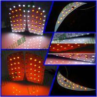 汽车大灯LED改装,高亮LED日行灯模组开发设计与制造,车灯模组贴片