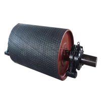 湖南开元整体辐板式输送机铸胶传动滚筒