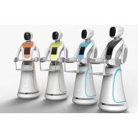 仿人形无轨送餐机器人