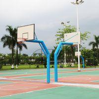高州市弹簧篮球架多少钱 玻璃板球架安装示意图 工厂加工定做篮球架