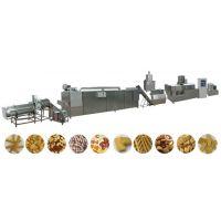 山东厂家直销休闲油炸食品膨化机生产线