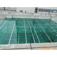 耐力板阳光板透明汽车停车棚