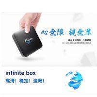 Infinite机顶盒 安卓智能播放器 八核4K高清第四台机上盒 TV Box