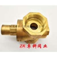 厂家 热水器调压式黄铜减压阀 自来水单向铜减压阀 热水器黄铜可调式减压阀 dn15单向减压阀 一件