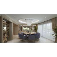 万科颐府别墅装修案例 天古装饰现代风格效果图设计