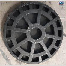 河南泌阳黑色DN900中石油中石化(承重)防水双层防井盖价格 河北华强