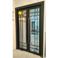 佛山美多裕门窗供应铝合金门窗 定制地弹簧门 中空玻璃大门 隔音大气