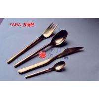 葡萄牙同款出口西餐餐具刀叉勺套装 304不锈钢牛排刀叉