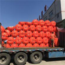 北京水面垃圾处理拦污浮筒 塑料拦渣浮筒厂家