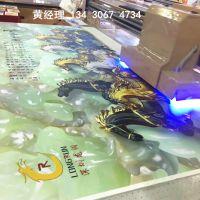 理光G5 uv2030集成墙板3D浮雕打印机