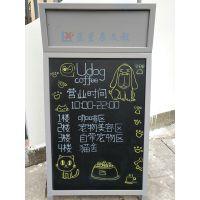 东莞挂式磁性黑板E中山咖啡色框可吸磁黑板R惠州优质黑板可升降