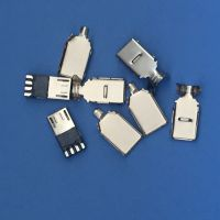 MICRO 3.0 前五后四 三件式 USB 焊线式 三件套 带卡勾