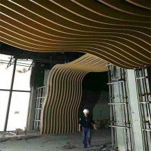 专业防火弧形铝方通吊顶厂家 欧百建材