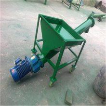 兴亚咸宁市碎沙子提升机 自动化螺旋提升机 304抗氧化螺旋上料机
