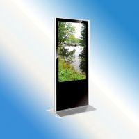 深圳厂家直销 立式65寸高清播放器液晶广告屏安卓网络落地广告机