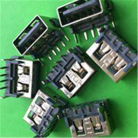"""厂家直销2.0 USB座母座连接器插座短体""""品质高,信誉好"""""""