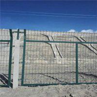 权硕丝网制造仿防护栅栏网片 镀锌防护监护网片